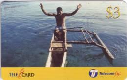 ***Télécarte Prépayée Fidji $3  Utilisée **TB  A Saisir *** N° Lot :99094006809 - Fidji