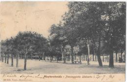 LAZIO-ROMA-  MONTEROTONDO VIALE UMBERTO  I - Italia