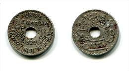 Tunisie 25 Centimes 1920 - Túnez