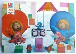 RARE Puzzle MB 1975 - CHAPI CHAPO  -  60 Pièces - Puzzles