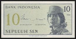 INDONESIA. 10 Sen - 1964. Pick 92. UNC - Indonésie