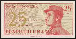 INDONESIA. 25 Sen - 1964. Pick 93. UNC - Indonésie