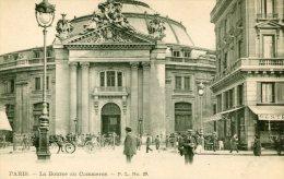 CPA 75 PARIS  LA BOURSE DU COMMERCE  Dos Simple 1er Arrond. - Arrondissement: 01