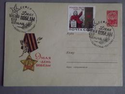 Enveloppe Commémoration Du 9 Mai 1945 Entier Postal - Machine Stamps (ATM)