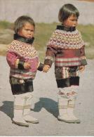 Dinamarca--Groenlandia--Girls From Geenland In Ceremonial Costumes - Groenlandia