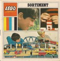 LEGO SYSTEM - SORTIMENT - CATALOGUE - Texte En Allemand (1968) - Catalogs