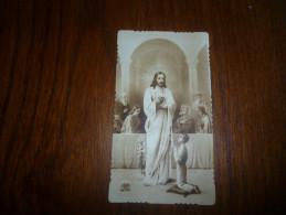 Image Pieuse Souvenir Communion A NAYOME Jolimont 1941 - Communion