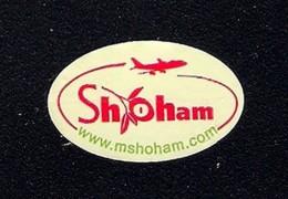 # MANGO SHOHAM Israel Fruit Label, Etichette Etiquettes Etiquetas Sticker Adhesive Israel Air - Fruits & Vegetables