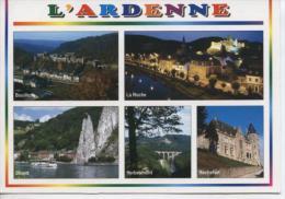 (BE47) ARDENNE. BOUILLON, LA ROCHE, DINANT, HERBEUMONT, ROCHEFORT - Belgique