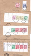 Finland 4 Covers With Slot Machine Stamps. - Finland