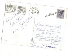 Griffe Annulation La Ferté Saint Aubin Sur Timbre Italie - 1946-.. République