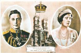 RECUERDO DE LA CORONACION DEL REY GEORGE VI Y LA REINA ELIZABE4TH - Londres