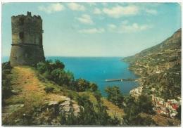 1983, Amalfi - Panorama Dalla Torre Dello Ziro. - Salerno