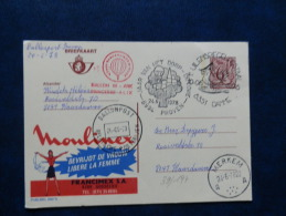 39/196  PUBLICEL  BELGE  BALLONPOST - Airships