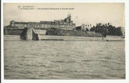 LE CROTOY - La Plage Jolie -  Les Anciens Remparts à Marée Haute - Le Crotoy