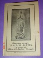N.S.di LOURDES - Chiesa Di S.Paolino - VIAREGGIO,Lucca - Coop Tip.Versiliese - Santino Vecchio - Images Religieuses