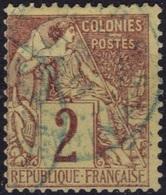 FRANCE COLONIES Emissions Générales Poste 47 (o) Type Alphée Dubois 3 [ColCla] - Alphée Dubois