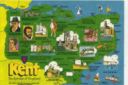 MAP - JOHN HINDE - KENT 2KT 1 - Maps