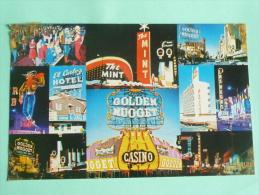 LAS VEGAS , Glittering Fremont St. - Las Vegas