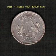 INDIA    1  RUPEE  1991  (KM # 79.5) - India