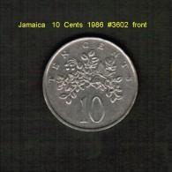 JAMAICA    10  CENTS  1986  (KM # 47) - Jamaica