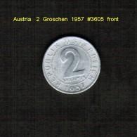 AUSTRIA    2  GROSCHEN  1957  (KM # 2876) - Austria