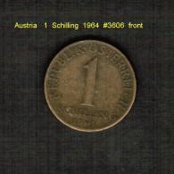 AUSTRIA    1  SCHILLING  1964  (KM # 2886) - Austria