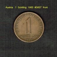 AUSTRIA    1  SCHILLING  1965  (KM # 2886) - Austria