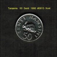 TANZANIA    50  SENTI  1990  (KM # 26) - Tanzanie