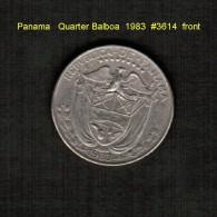 PANAMA    1/4  BALBOA  1990  (KM # 11a) - Panama