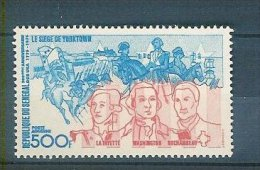 SENEGAL Neuf **  Yvert N° PA 150 Centenaire Des USA Le Siege De Yorktown - Senegal (1960-...)