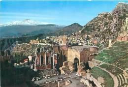 CPM - TAORMINA - Teatro Greco E Panorama - Messina