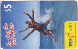 ***Télécarte Prépayée Fidji $5 Utilisée **B  A Saisir *** N° Lot :070554141658 - Fidji
