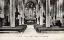 88-MENIL-sur-BELVITTE-L´I   Ntérieur  De L´Eglise (1929) - Francia
