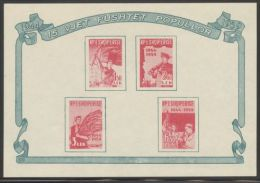 Albania - 1959 Liberation Block MNH__(THB-3784) - Albania