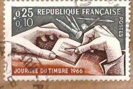 N° 1477 Journée Du Timbre 1966 - France