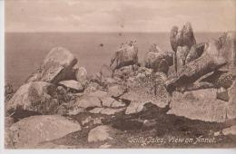 ANGLETERRE CORNWALL SCILLY ISLES VIEW ON ANNET BELLE CARTE RARE !!! - St.Ives