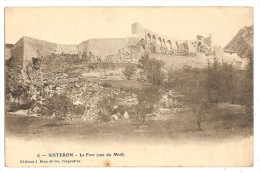 CPA 04 SISTERON Brun N° 6 - Sisteron
