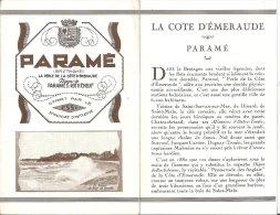 35 - PARAME - Guide Touristique Bien Illustré De 8 Pages - France