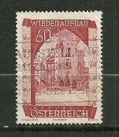"""Autriche Oblitéré ; Y & T ; 717  ; """" Reconstruction """" - 1945-.... 2ème République"""