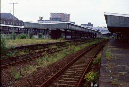 Railway Station Colour Slide Eissenbahn Germany, Oberhausen   06-07-1996 H-33 - Trains