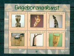 "Nations Unies Vienne 2006 - Feuillet ""Art Autochtone"" - Wien - Internationales Zentrum"