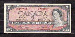 CANADA-  TWO-DEUX DOLLARS- MINT UC VF - Canada