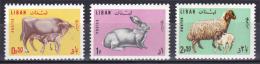 Lebanon 1965 - ( Caw & Calf ) - Complete Set - MNH (**) - Koeien