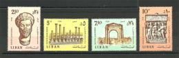 Lebanon - 1968 - ( Ruins Of Tyre ) - Complete Set - MNH (**) - Lebanon