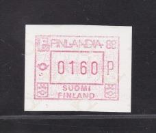 ATM: 1986 Finland Mi.2.1 Finlandia - Mint/**   (M2-30) - ATM - Frama (labels)