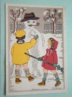 B.V.V. Belgische Vriendenkring Voor VERLAMDEN / PARALYSES ( F. Weynandt / Kerst ) Anno 19?? ( Zie Foto Voor Details ) !! - Cartes Postales