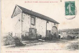 ZZ  895   CP     LA  SALLE PRES DE ST DIE MAISON CRIBLEE DE BALLES  6 OCTOBRE 1870 - Saint Die