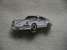 Pin´s PORSCHE De Couleur Blanche - Porsche