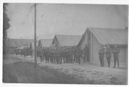 Issum:Ansicht Der Kazerne. (Belgische Besatzungsarmee In Deutschland. Carte-photo,1919) - War 1914-18